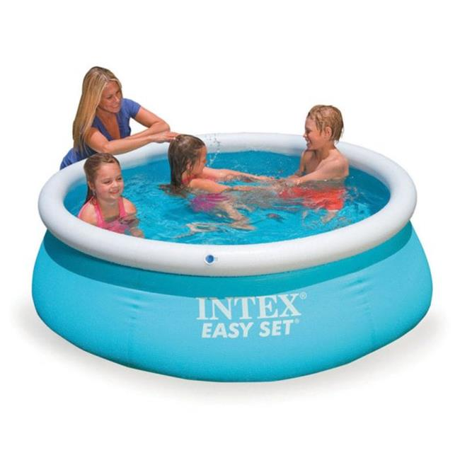 Intex Recreation 28101EH 6 ft. x 20 in. Easy Set Inflatable Swimming Pool