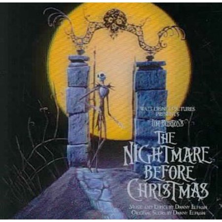 The Nightmare Before Christmas / O.S.T. (CD) (Halloween Music Nightmare Before Christmas)