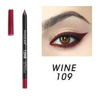 Glide-On Gel Eyeliner Metallic Shiny Smoky Eyes Eyeshadow Waterproof Glitter