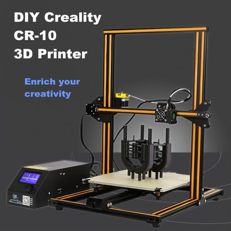CR-10 DIY 3D Printer Kit Creality 3D Printer 300*300*400mm Printing Size Printers 1.75mm 0.4mm
