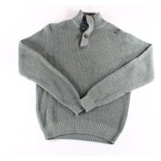Weatherproof NEW Gray Heather Mens Size Small S Turtleneck Knit Sweater