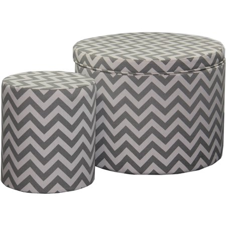Astounding 17 35 Chevron Storage Ottoman Plus Extra Seating Andrewgaddart Wooden Chair Designs For Living Room Andrewgaddartcom