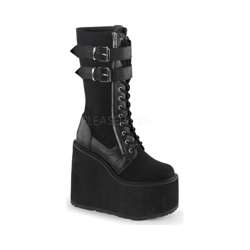 Women's Demonia Swing 221 Mid-Calf Boot by PleaserUSA