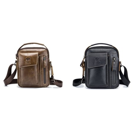 Business Style Cow Leather Men Bag Casual Design Men Messenger Bag Best Gift - image 7 of 8