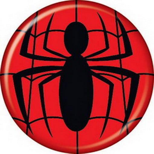 Spider Man Marvel Comics Spiderman Logo Button 81743 Walmart Com