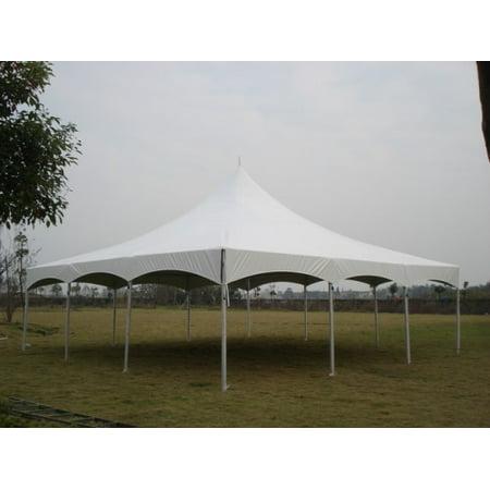 30 x 30 White High Peak Frame Tent - Walmart.com