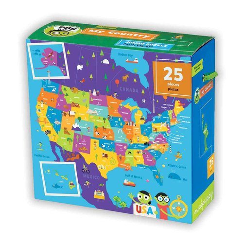 PBS Kids My Country Jumbo Puzzle: 25 Pieces