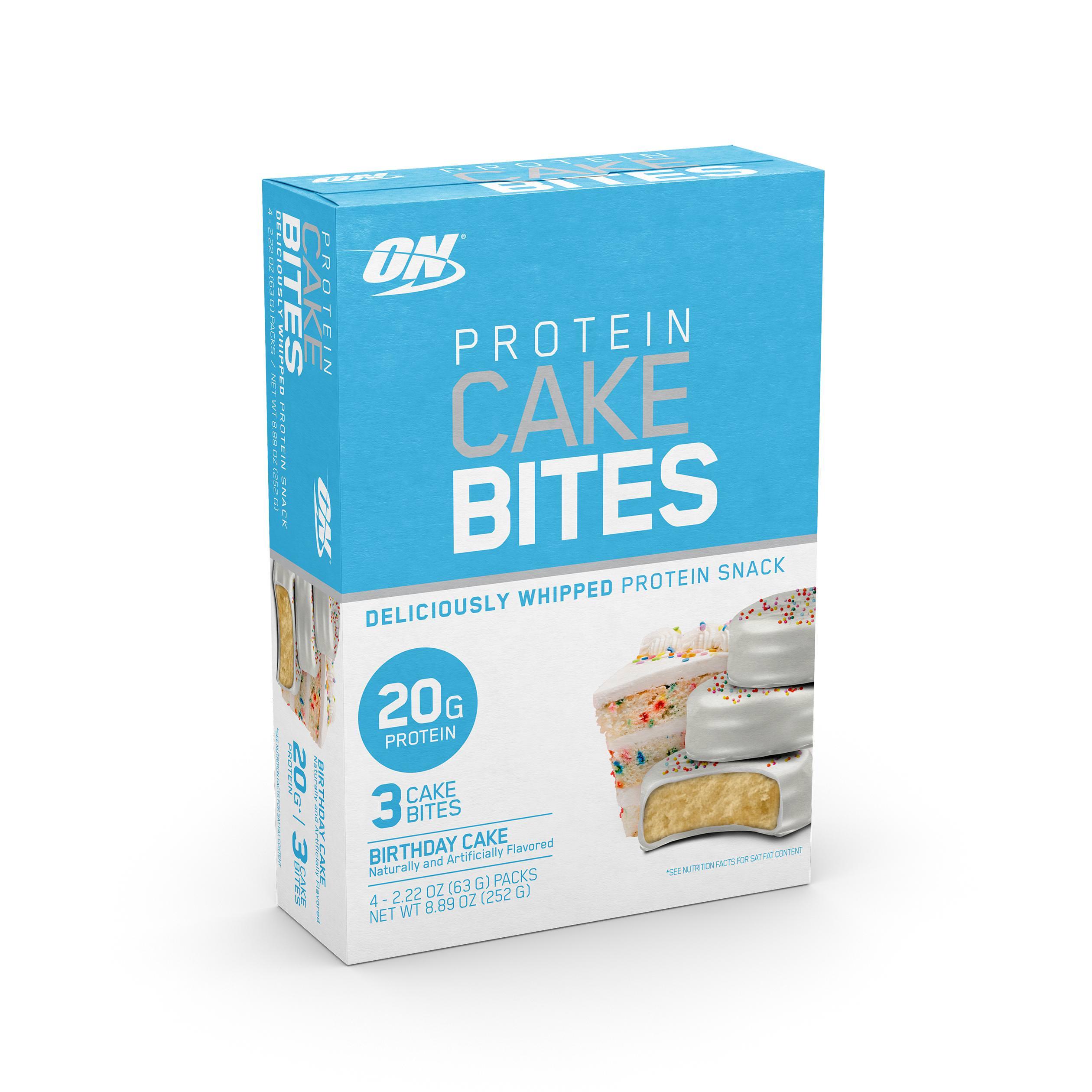 Optimum Nutrition Cake Bites - Birthday Cake - 2.2oz/4pk