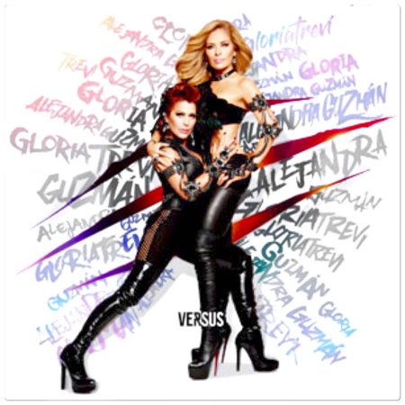 Gloria Trevi and Alejandrav Guzman - Versus (Gloria Cd Single)