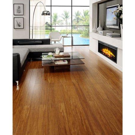 Easoon USA Envi Exotic Caramel Strand Woven EZ Click (Golden Arowana Strand Bamboo Flooring With Locking System)