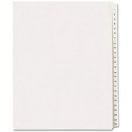 Avery Consumer Products AVE01705 Collated Dividers- 101-125- Side Tab- 11in.x8-.50in.- 25-Set- WE - image 1 of 1