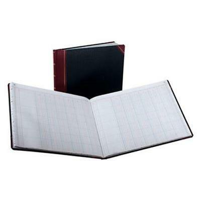 Columnar Book, 12 Column, Black Cover, 150 Pages, 10 3/8 x 8 1/8