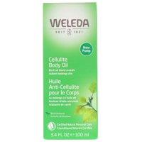 Weleda Cellulite Body Oil, Almond Extracts, Sensitive Skin, 3.4 fl oz (100 ml)