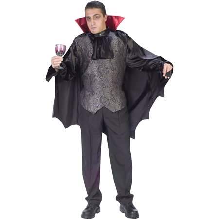 Dapper Dracula Adult Halloween Costume - Dracula Halloween Costumes For Men