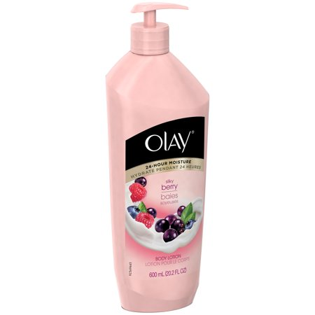Olay Silky Berry Lotion pour le corps, 20,2 fl oz