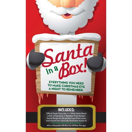 Santa Claus In-A-Box Kit : Everything You Need To Dress Like Santa &Make Your Holidays Complete