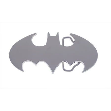 Batman Belt Buckle DC Comics Silver Chrome Shiny Halloween Costume Gift Original Licensed](Brobee Costume)
