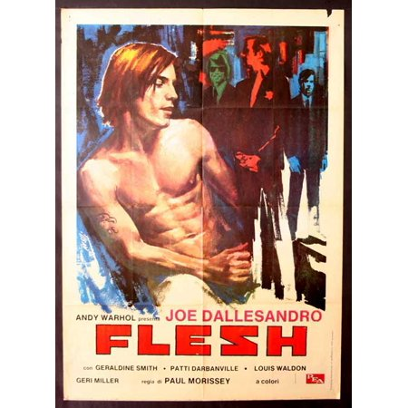 Andy Warhols Flesh Movie Poster (11 x 17)