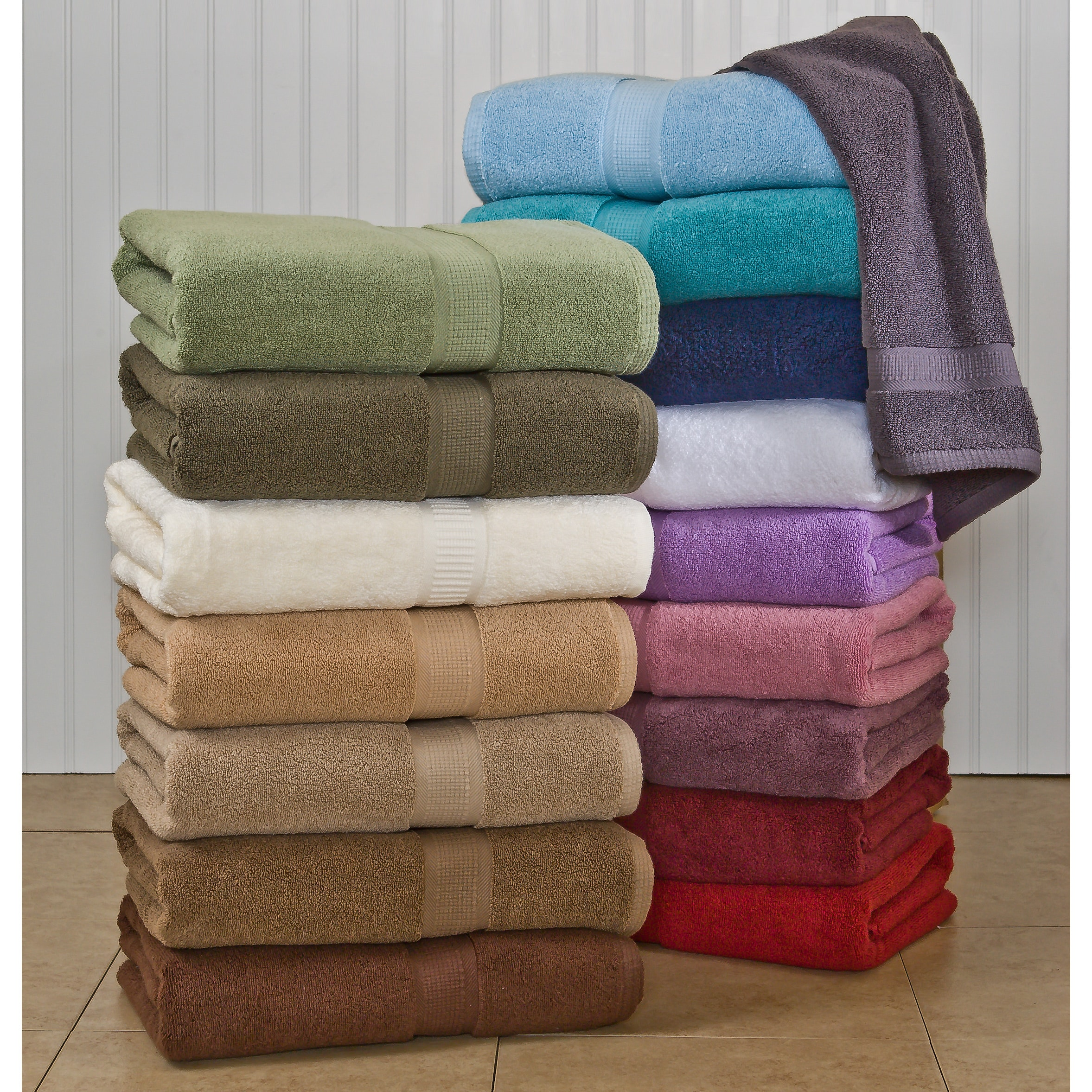 Calcot  Supima Zero Twist Bath Sheet (Set of 2)