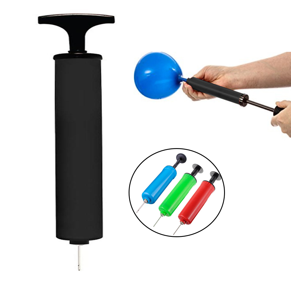 12 Hand Inflator Pump Basketball Volley Ball Party Balloon Air Needle Soccer