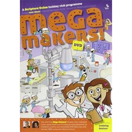 Mega Makers DVD (Audio CD) (Audio Cd Maker)