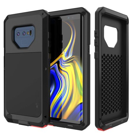 new arrivals 065e9 bd1ea Galaxy Note 9 Gorilla Case Super Shockproof Silicone Aluminum Metal Armor  Tank Heavy Duty Sturdy Protector Cover Hard Case for Samsung Galaxy Note 9  ...