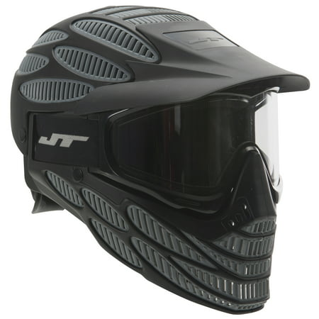 JT Spectra Flex 8 Thermal Full Coverage Goggle Black and Gray, Thermal (Jt Proflex Thermal Paintball Goggles)