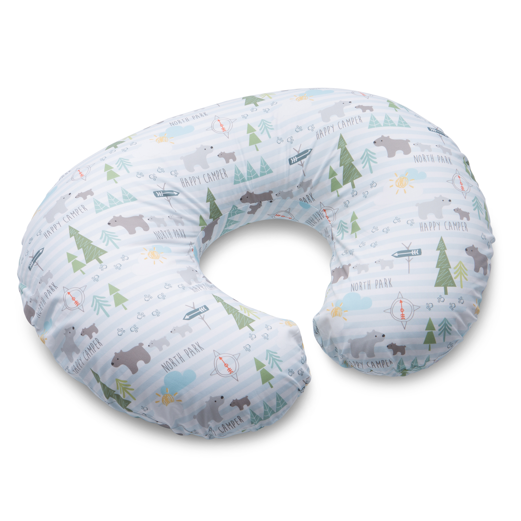 Boppy Cotton Blend Nursing Pillow and Positioner North Park by Boppy