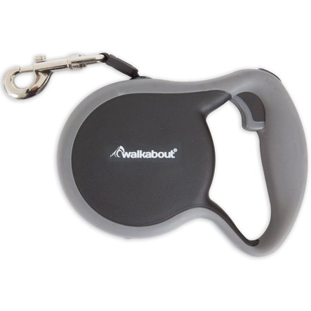 Petmate 02404 Walkabout Retractable Leash, Black (Aspen Petmate Leash)