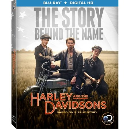 Harley And The Davidsons  The Story Behind The Name  Blu Ray   Digital Hd