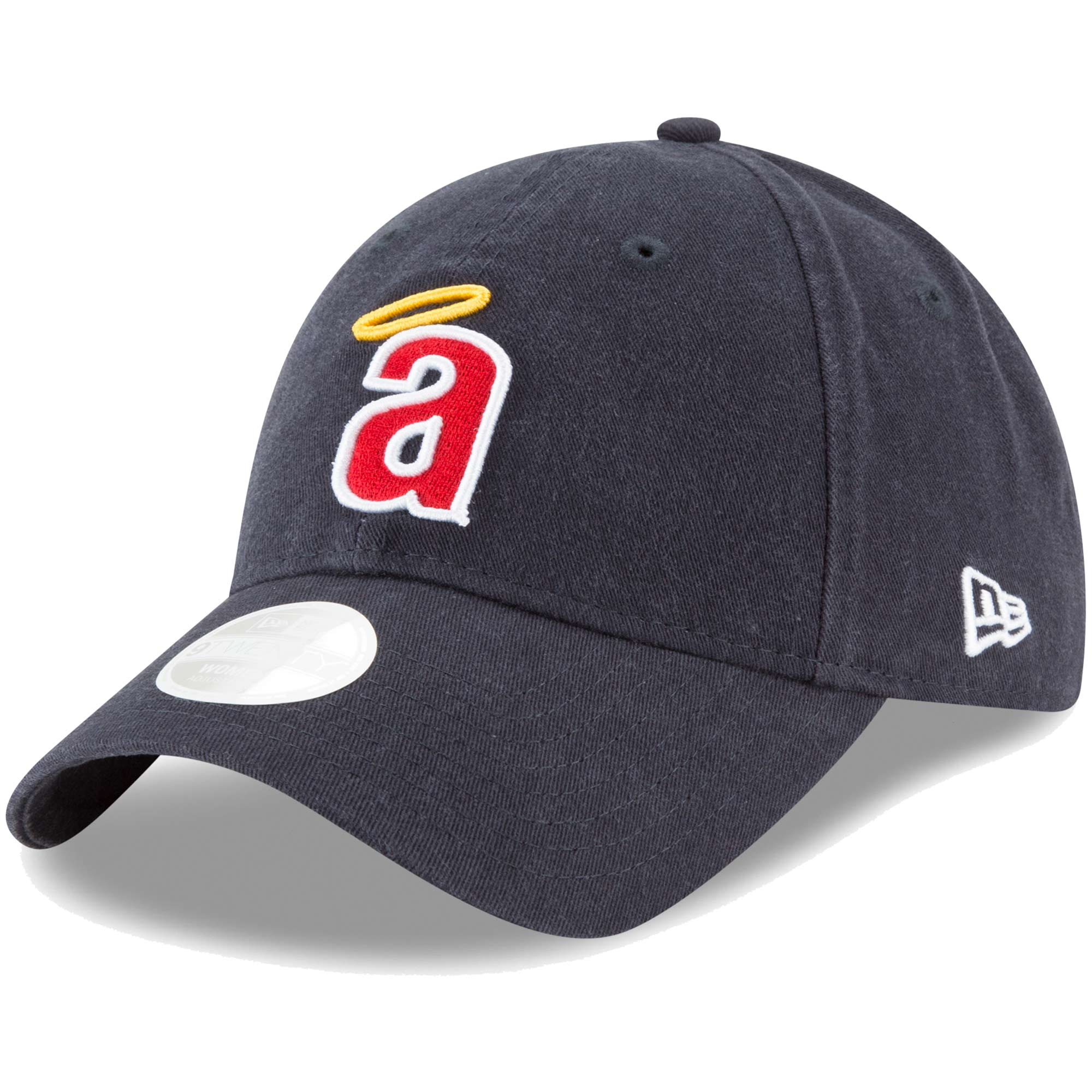 California Angels New Era Women's Core Classic Twill Team Color 9TWENTY Adjustable Hat - Navy - OSFA