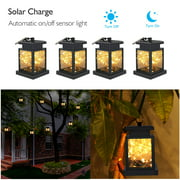 1~10 PackSolar Lights Outdoor Hanging Solar Lantern , Solar Garden Lights for Patio Landscape Yard, Warm White star, Dusk to Dawn Auto Sensor On Off
