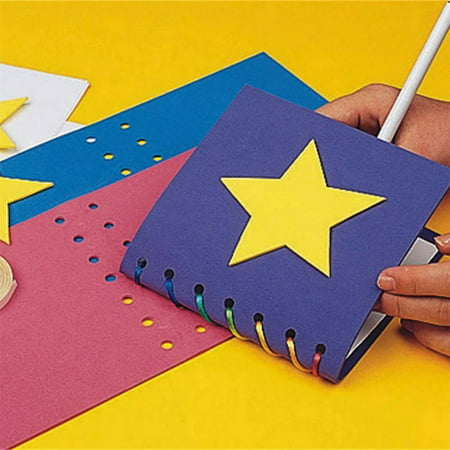 EduCraft Super Foam Memory Book Craft Kit, Pack of 24