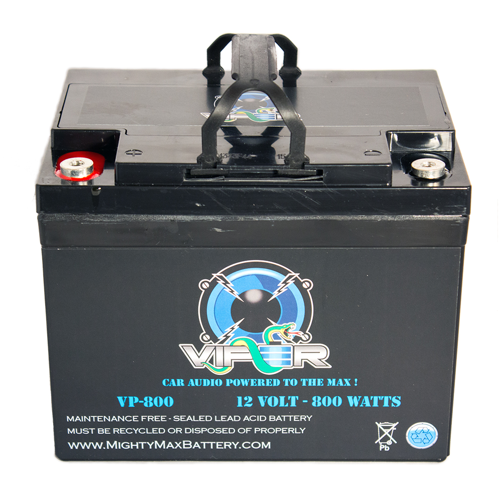 Viper VP-800 800 Watt Audio Battery for Planet Audio AC800.4 ANARCHY