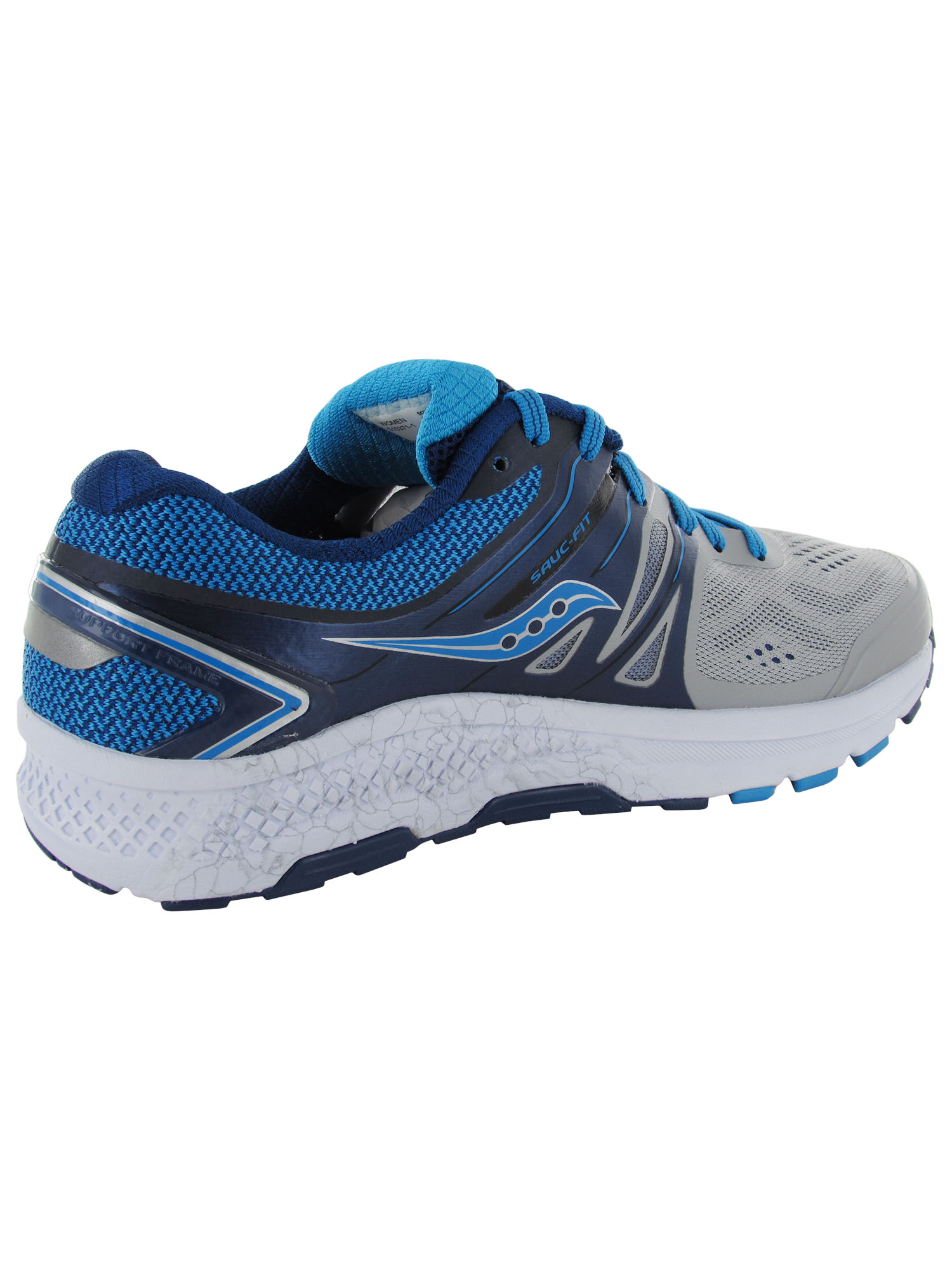 Saucony Women/'s Omni 16 Running Sneakers Pick A Size Grey//Blue Pre-owned