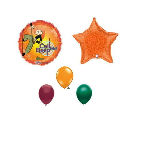 Kim Possible Birthday Party Balloons Decorations Supplies Disney Beep - Disney Halloween Party Decorations