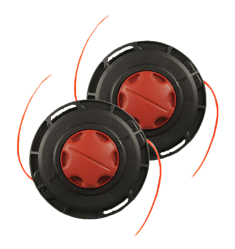 Homelite String Trimmer (2 Pack) Replacement String Head Assembly # 309034001-2PK