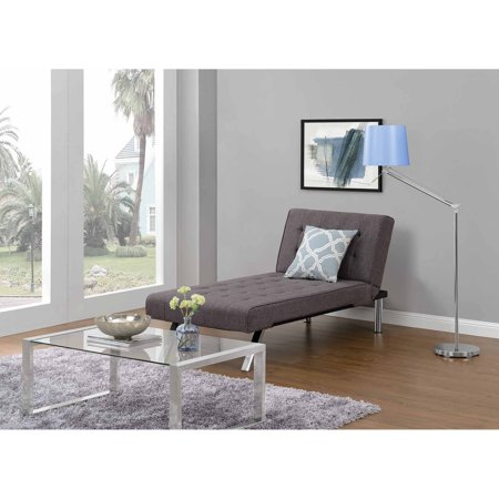 Dhp Emily Futon Chaise Lounger Multiple Colors