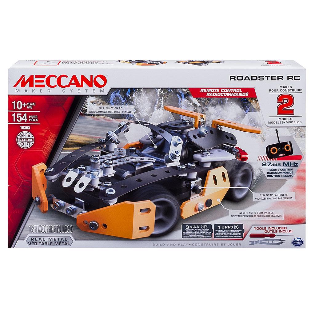 Meccano-Erector - Roadster RC Building Kit