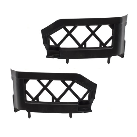 - BROCK Pair Set Front Bumper Left Side Brackets Support Covers for Nissan Frontier Pickup Truck Pathfinder 62223EA500 62222EA500