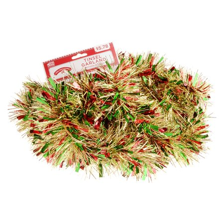 Holiday Time Mega Wide Cut Decorative Garland