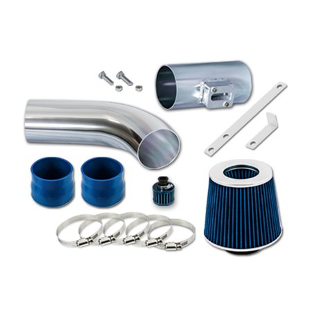 RL Concepts Blue Short Ram Air Intake Kit + FILTER 08-12 Chevrolet Colorado 2.9L L4 / 3.7L L5