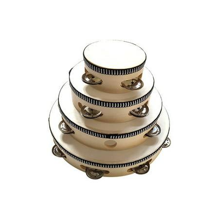 Cadeau de percussion rond tambour tambour musical pour KTV Party - image 3 de 5