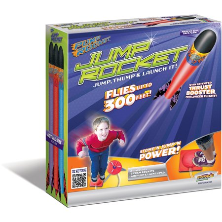 Multiple Rocket Launcher - Original geospace jump rocket - launcher and 3 rocket set