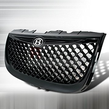 Spec-D Tuning Chrysler 300M 1999 2000 2001 2002 2003 2004 Mesh Grille Bentley Style - Black Bentley Style Mesh Grille