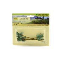 Architectural Model Trees Palm Trees, 4 in. - 5 in., pack of 3 (pack of 3)