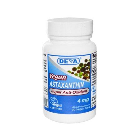 Deva Vegan astaxanthine Antioxydant super - 4 mg - 30 capsules
