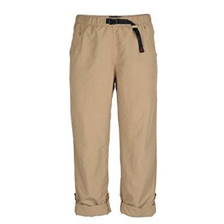 Gramicci Women's Pants - gramicci women's roll up g pants, beach khaki, size 31 x small