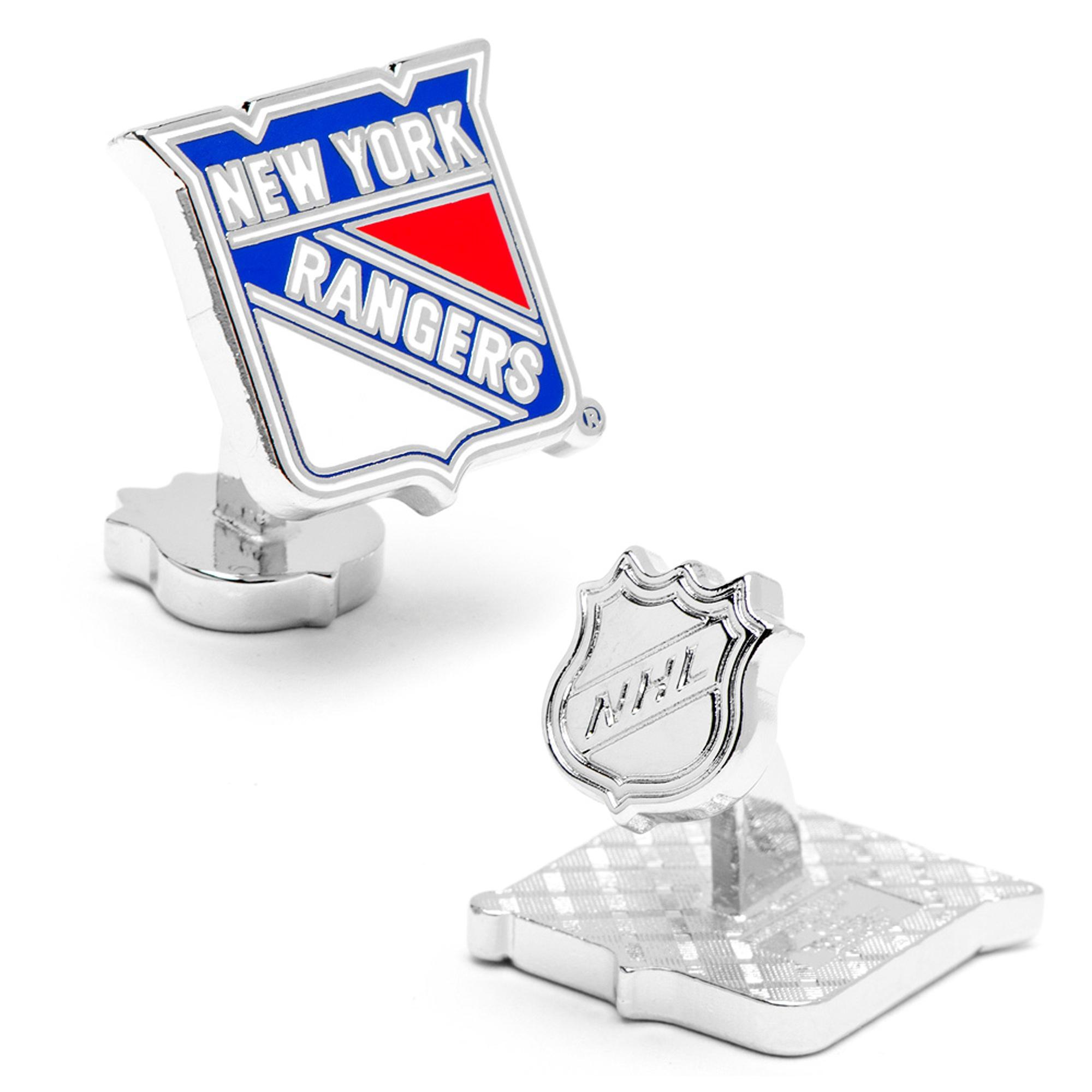 New York Rangers Palladium Cufflinks