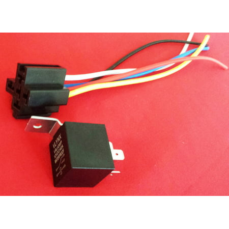 12v Ac Dpdt Relay - QTY1 RELAY + 1 5 PIN SOCKET 12V DC 30/40A WATERPROOF SPDT car & marine audio